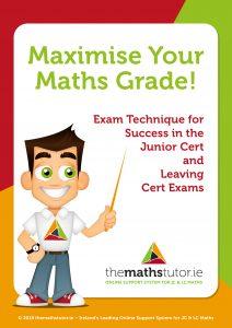 maximise your maths grade NEW FRONT COVER estefania