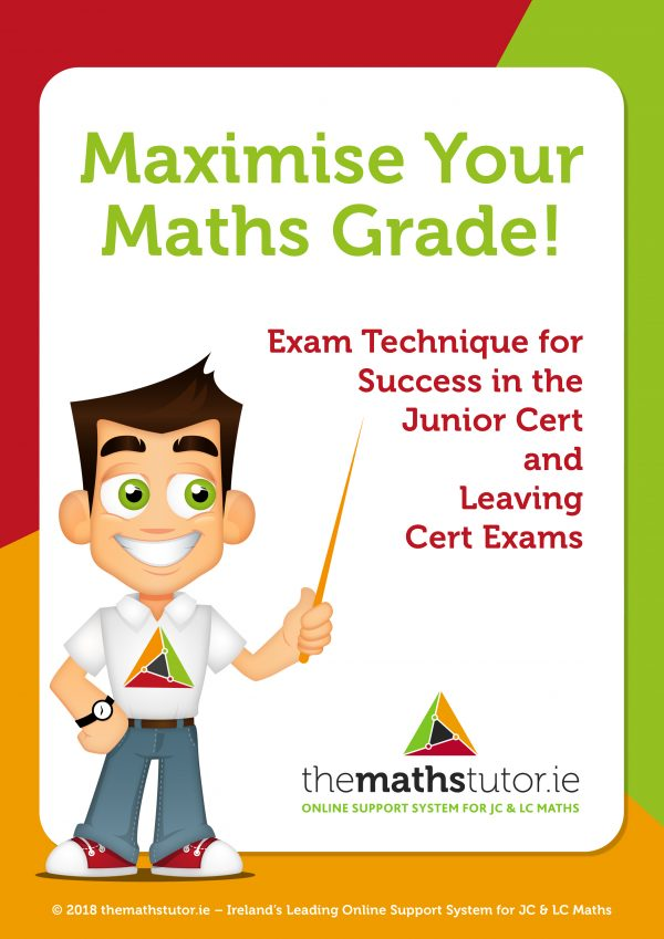 maximise_your_maths_grade NEW FRONT COVER estefania