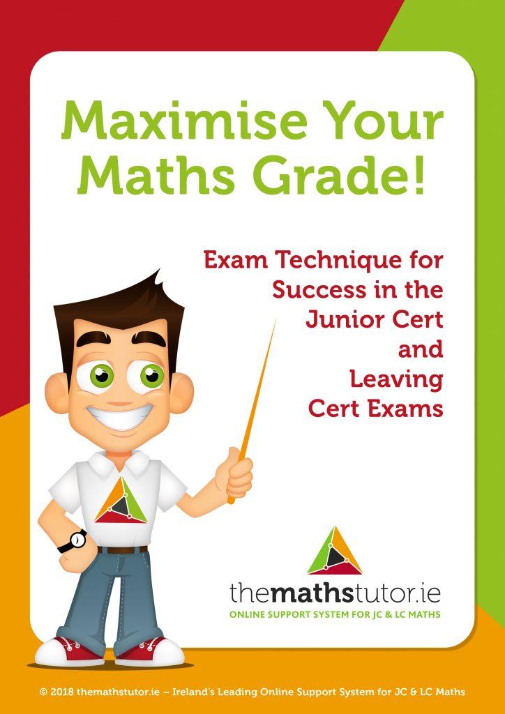 maximise_your_maths_grade NEW FRONT COVER estefania