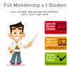 1 Student for 1 School Year - Full Membership until 15th June 2020