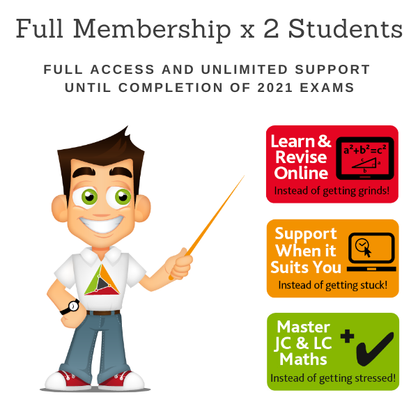 2 Students for 1 School Year – Full Membership until 15 June 2021