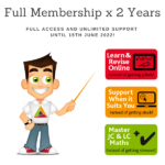 Discounted - Full Membership for 1 student of TheMathsTutor.ie support system 15 June 2021 - Higher Options Rep - Eamonn