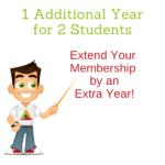 1 Extra Year of Full Membership!