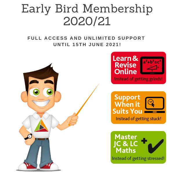 End of Year Early Bird Membership – Full Membership from now until 15 June 2021 – Sale