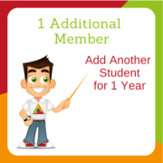 1 Additional Member - Full Membership for your sister, brother or family friend!