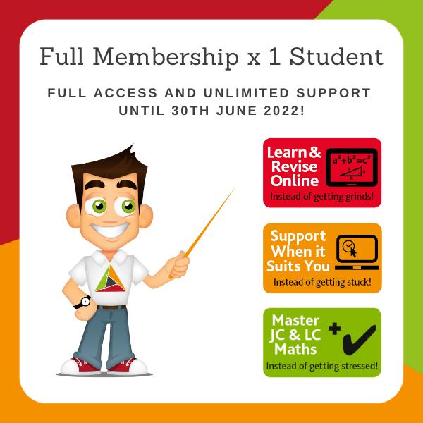 Regular Full Membership from now until 30 June 2022