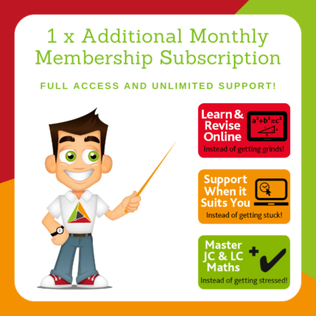 1 Additional Member – Monthly Membership for your sister, brother or family friend!