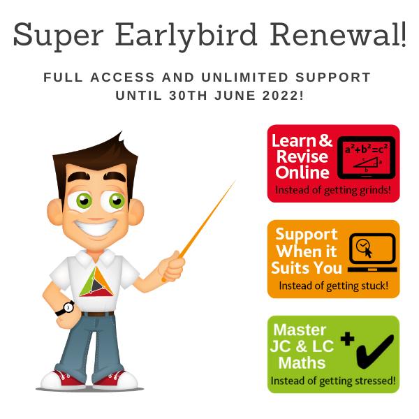 Renewal – Super Early Bird Membership Renewal – Full Membership until 30 June 2022